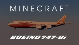 Boeing 747-8i (Sunrise Livery) Minecraft Map & Project