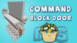 Minecraft 1.7 redstone: Command block door (snapshot 13w38c) Minecraft Map & Project