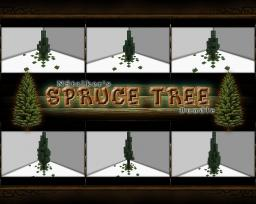 Spruce Tree [Schematic Bundle] - 6 Designs / Different Sizes Minecraft