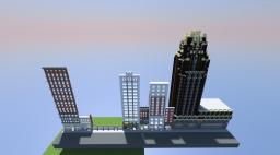 American Radiator Building, New York. Minecraft