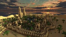 Hafsah, The Desert Village Minecraft
