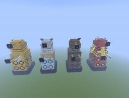 Giant Daleks Minecraft Map & Project
