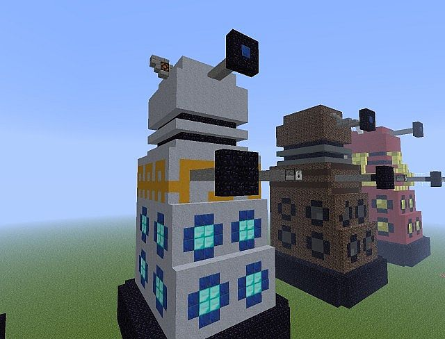 How To Build A Dalek In Minecraft