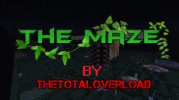 The Maze - A PvP Map By TheTotalOverload Minecraft Map & Project