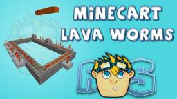 Minecraft 1.7 redstone: PG5 Lava worms w/ Minecarts (snapshot 13w39b) Minecraft Map & Project
