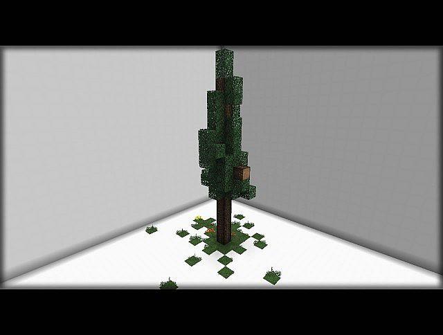 Spruce Tree Schematic Bundle 6 Designs Different