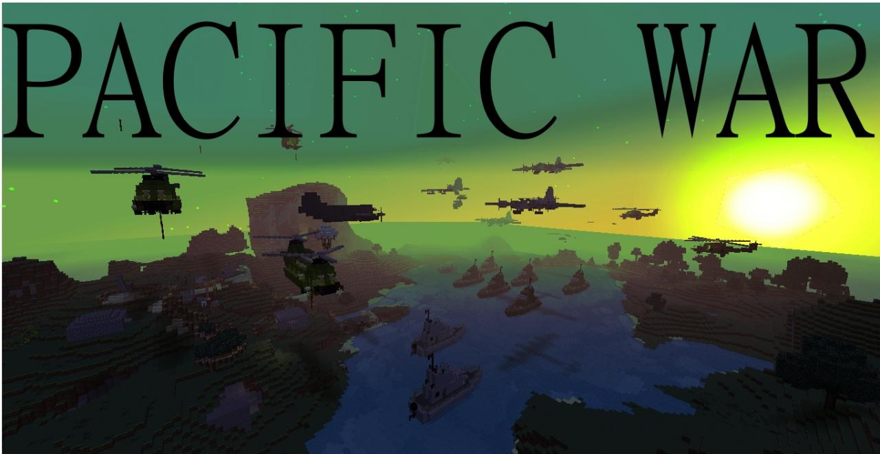 The Pacific War ! Minecraft Project