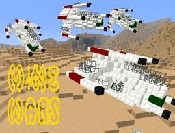 Republic Attack Gunship Minecraft Project