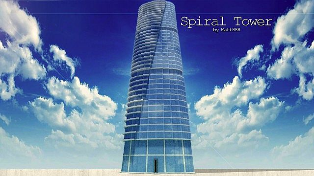 Spiral Tower Minecraft Project