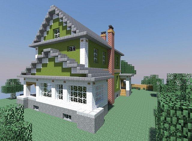 Small Farmhouse Minecraft Project
