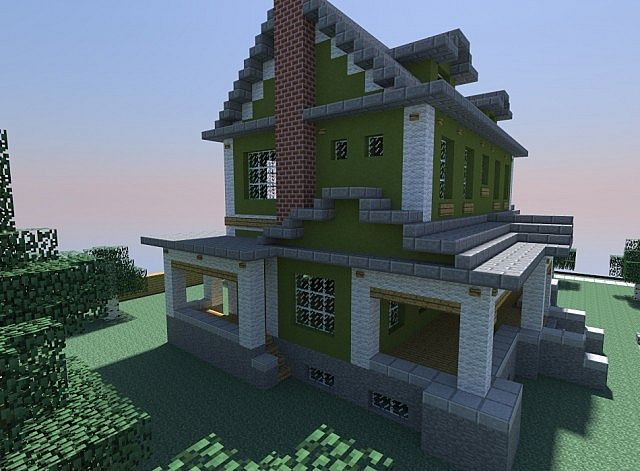 Small Farmhouse Minecraft Project
