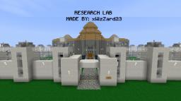 Reserach Lab Minecraft Map & Project