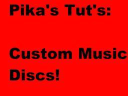 Tutorial - How to make Custom Music Discs! (No Mods, 10 Easy Steps) Minecraft Blog Post