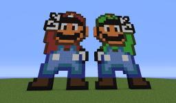 Mario and luigi map Minecraft Project