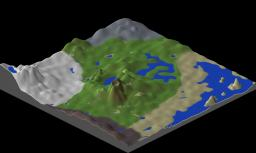 Custom Terrain Map! Minecraft Project