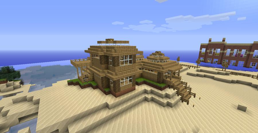 My new house minecraft blog for My new home