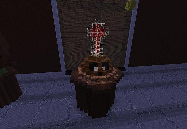 Plants Vs Zombies  Potato Mine Schematic Minecraft Project