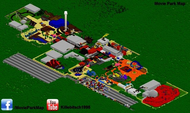 movie world park map pdf
