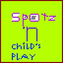 Spotz-'n-Child's Play 1.0.7 Minecraft Texture Pack