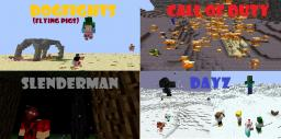 Project E. [Call Of Duty Air to Air Combat Slenderman  Custom Plugins Dogfights DayZ Creative Survival] Minecraft Server