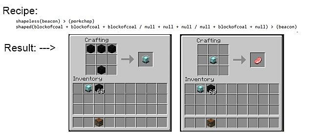 Custom Recipes Make and customize your own crafting recipes