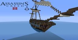 Aquila Assassin's Creed 3 Ship Minecraft Map & Project