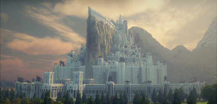The capital of Gondor, Minas Tirith