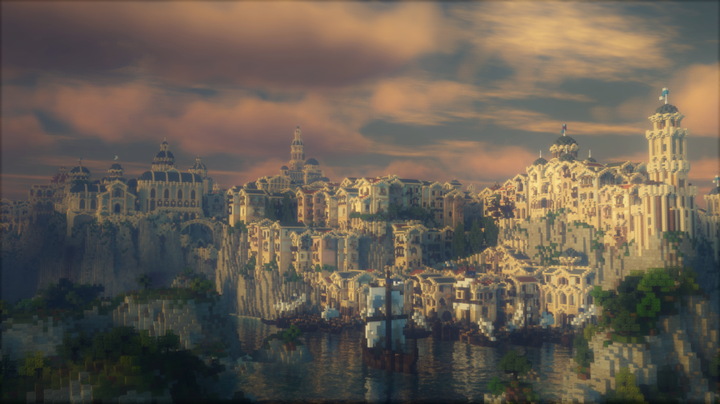 The great city of Dol Amroth