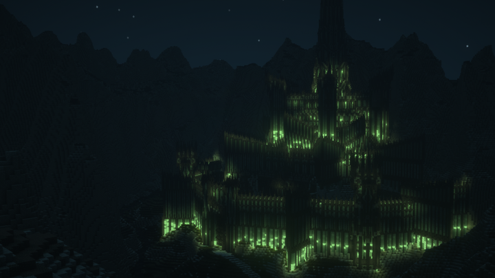Minas Morgul, formerly known as Minas Ithil