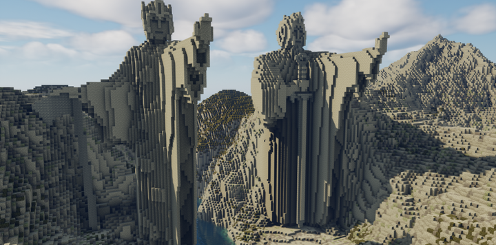 The Pillars of Kings, better known as the Argonath