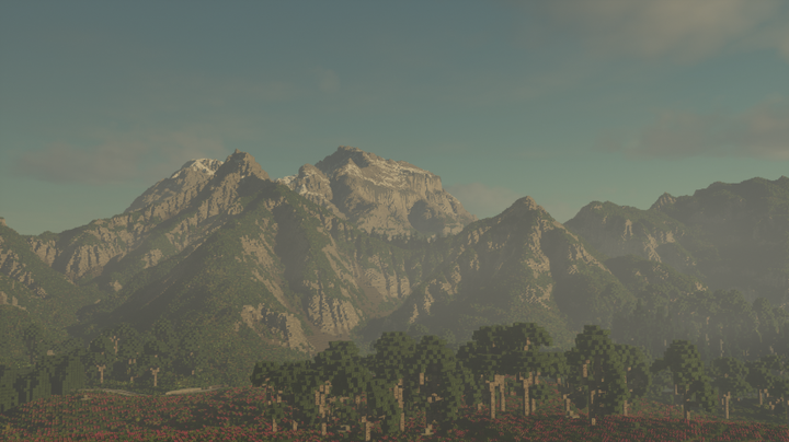 The mountains of Andrast