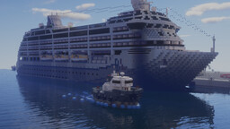 M/S Berg Elbrus [Custom Cruise Ship] Minecraft Map & Project