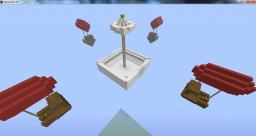 Airship battles, Fort Siege! Minecraft Map & Project