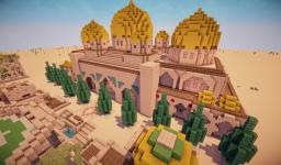 Great Desert Temple (Arabian / Desert City Project) Minecraft Map & Project
