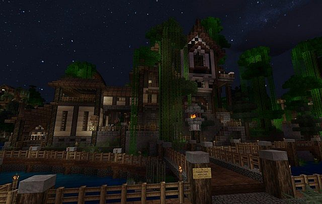 Feyruhn - Largest Spawn city in Minecraft today