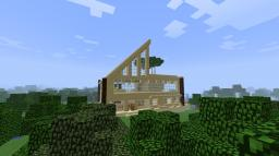The House near the River Minecraft Map & Project