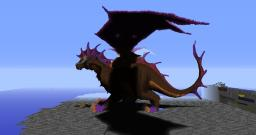 Onyxia, huge dragon from WoW made in mc Minecraft Map & Project