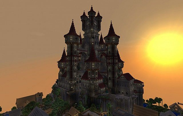 Castle SilverWick at Spawn City of Feyruhn