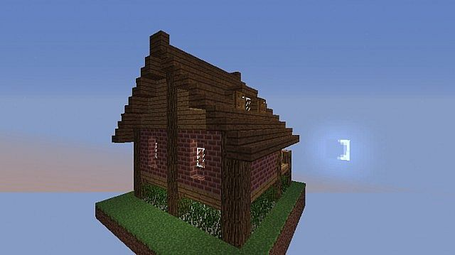 Simple Starter House Minecraft Project