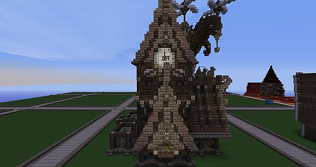 wip steampunk build opinions ideas minecraft project