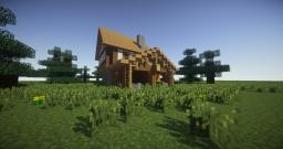 First Medieval Home Minecraft Map & Project