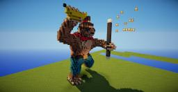 Jimmy Derpington, the Marvelous Monkey Minecraft Map & Project