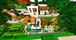 |Mount| A Modern Home Minecraft Map & Project