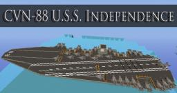 USS Independence CVN-88 Minecraft Project