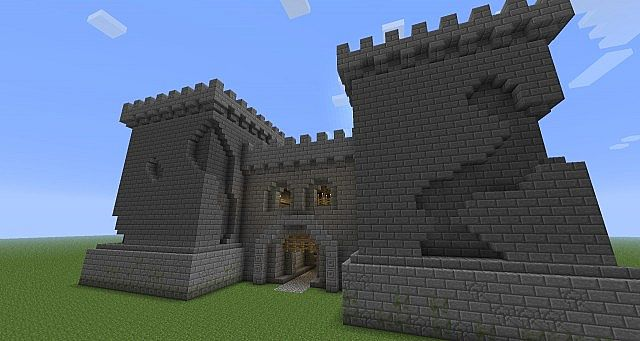 Old Fort Wit Full Interior Design Minecraft Project