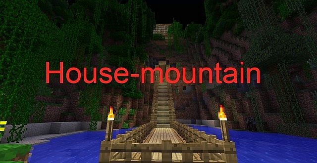 House mountain minecraft project - Mountain house projects ...