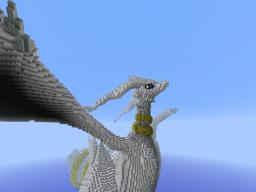 Shiny Reshiram Pokemon 3d Art Minecraft
