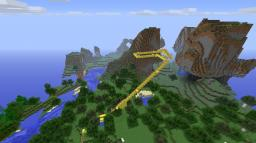 Minecraft's best rollercoaster Minecraft Map & Project