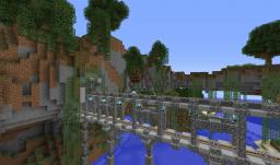 Mountain Coaster Ride Minecraft Map & Project