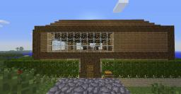 Modern Seaside House Minecraft Map & Project